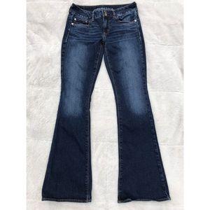 Artist dark blue jeans